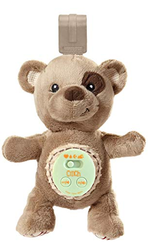 Cinch by dexbaby Plush Mini Bear - Sleep Aid Womb Sound Soother w/Playard and Crib Attachment by Cinch by dex
