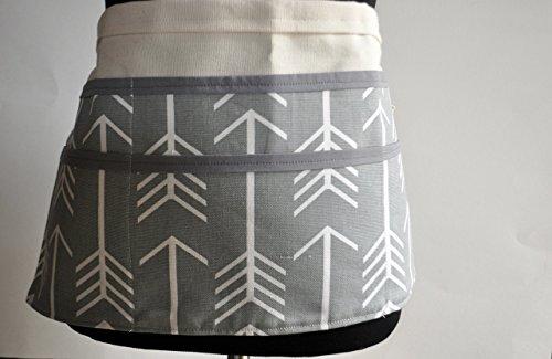 - Teacher apron in gray arrows