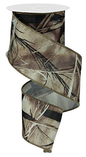 Camouflage Camo Ribbon/Christmas Tree Garland , 2.5