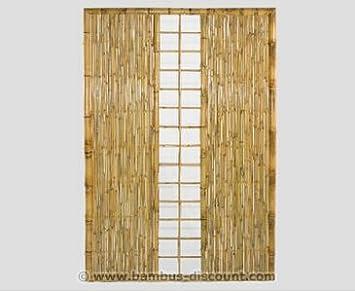 Amazon De Bambus Sichtschutz Wand Ten Premium Hohe 180 X Breite