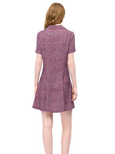 Dress J20j208746 Rouge Femmes Klein Calvin qwnUXPpxaE