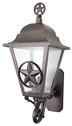 Melissa Lighting Outdoor Wall Mount LS179063 Western from Lone Star Series Collection in (Lone Star Porch Light)