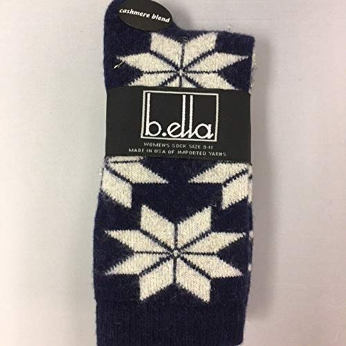 B.ella Women's Adriana Glitter Cashmere Blend Socks