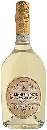 Prosecco Millesimato DOCG Villa Selli Vino Espumoso Italiano (1 botella 75 cl.)