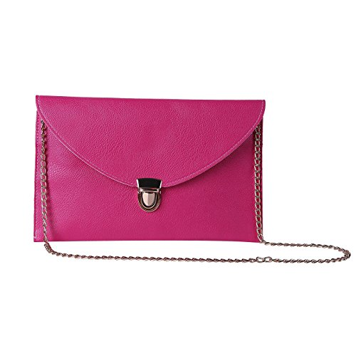 HDE Womens Envelope Clutch Handbag