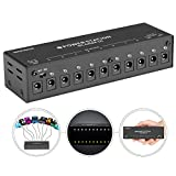 Neewer Guitar Pedal Power Supply 10-way Isolated DC Output for 9V/12V/18V Guitar Effect