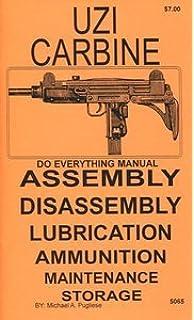 I M I  UZI 9mm Submachine Gun - Manual (ENGLISH) with disassembly