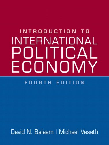 Introduction to International Political Economy (4th Edition)