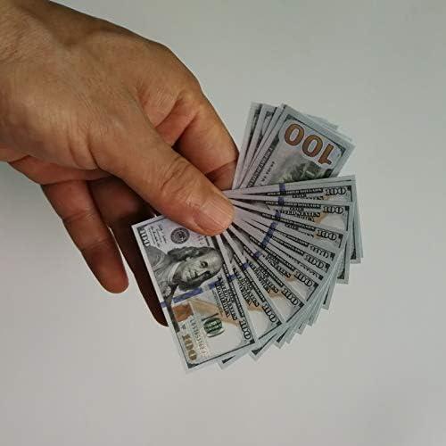 CHENTAOCS 紙のユーロ紙幣おもちゃの100pcs /ロットコレクションやギフトEUマネー絶妙なクラフトのための100 EUR金箔紙幣 使いやすい (色 : 3)