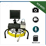 KOHSTAR Vicam New model waterproof sewer drain ridgid pipe inspection camera with 60m cable and metric function