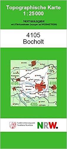 Bocholt N Topographische Karten 1 25000 Tk 25 Nordrhein Westfalen