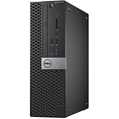Dell OptiPlex Opti3040-2059SFF Small Desktop (Intel Core i5, 4GB RAM, 500GB HDD, Windows 7 Pro)