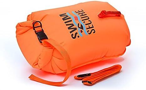Boya de natación aguas abiertas SWIM SECURE 20 litros talla S (NATACIÓN y TRIATLON) DISTRIBUIDORES OFICIALES EN ESPAÑA: Amazon.es: Deportes y aire libre