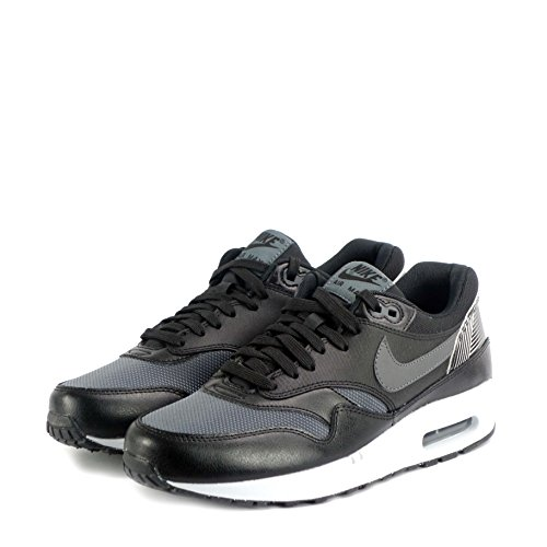 Running Blanco Men Max Grey Black Gris Dark Grey wolf Print NIKE Black Air s 1 Multicolour Shoes pqFYFw