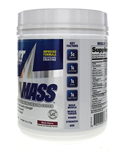 GAT JetMASS Fastest Acting Muscle Volumizer 30 Servings