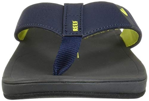 Reef Men's Ortho-Bounce Sport Sandal, Navy/Yellow, 070 M US by Reef (Image #4)