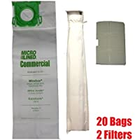 Sebo, Windsor Service Box Vacuum Bag and Filter Kit. 20 Bags + 2 Filters.