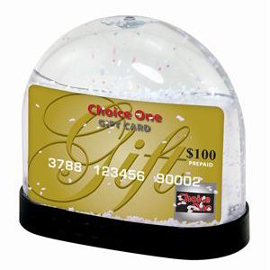 Gift Card Snow Globe - Case of 36