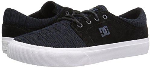 DC Men's Trase Se Skateboarding Shoe, Black/Dawn, 7 M US