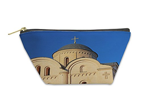 Gear New Accessory Zipper Pouch, Domes Of Orthodox Church Of Pirogoshchas Virgin In Kyiv UKraine, Large, 5998114GN by Gear New
