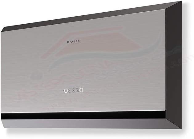 Faber TWICE - Campana extractora de pared (60 cm, acabado en acero inoxidable), color negro mate: Amazon.es: Grandes electrodomésticos