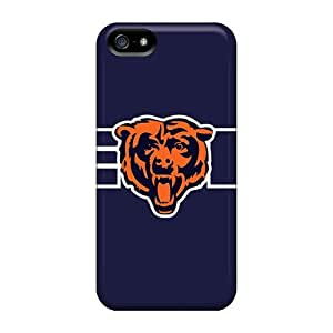 TMSBXts5394rfUQL Tpu Phone Case With Fashionable Look For Iphone 5/5s - Chicago Bears