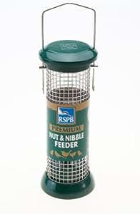 RSPB - Comedero para pájaros (22,8 cm, acero inoxidable)
