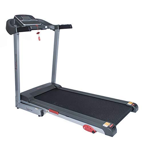 Sunny Health & Fitness Caminadora Eléctrica con Inclinación Manual y Función de Carga USB - SF-T7860