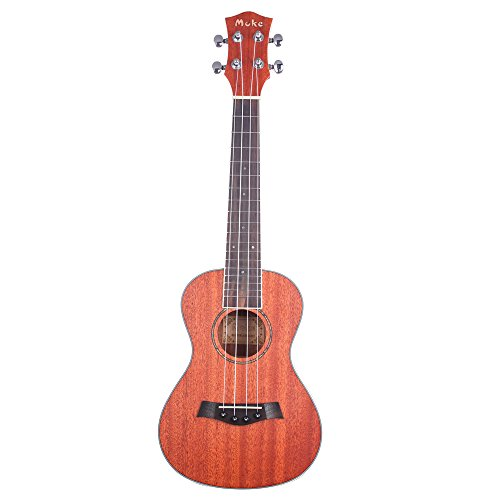 Concert Ukulele Mahogany MUKE MC-20 23 inch Ukulele with Case and Aquila Strings