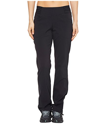 Mountain Hardwear Womens Dynama Pant for Climbing, Hiking, Cross-Training, or Everyday Use - Black - Medium - Short