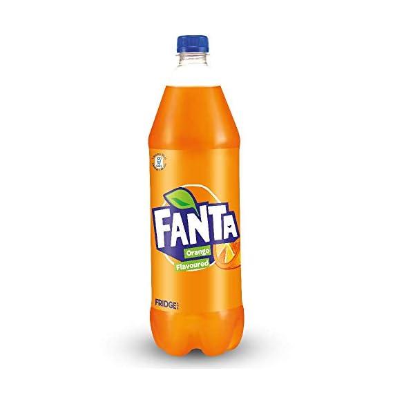 Fanta Orange Flavored Soft Drink, 1.25L