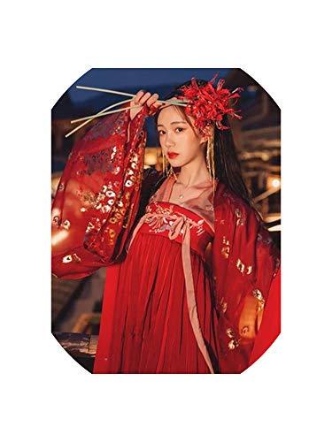 Asian Indian Princess Costumes - Hanfu Women Chinese Dress China Ancient