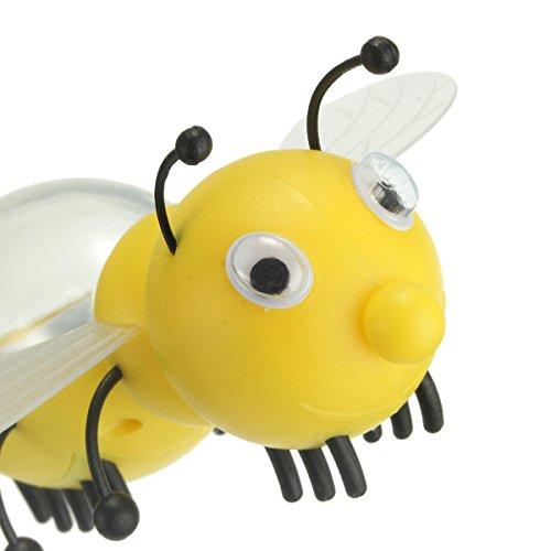 MOHOO Educacion Solar Desarrollado Abejas robot de juguete artilugio regalo: Amazon.es: Hogar
