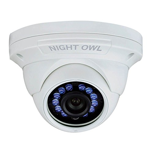 Night Owl - Indoor/outdoor 1080p Wired Dome Camera - White