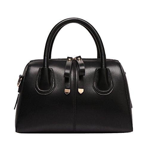 Bolsos De Las Señoras Multicolor Bolsa De Mano Color Del Caramelo De La Almohadilla Bagbackpack Black