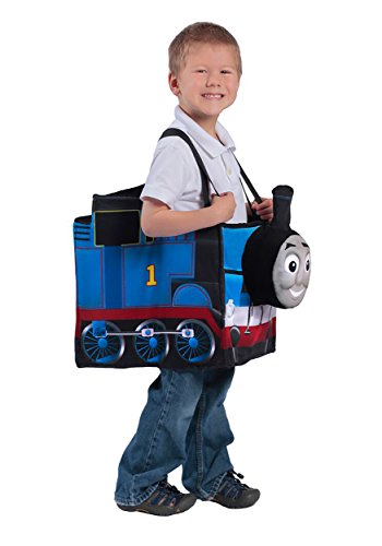 Thomas The Tank Halloween (Princess Paradise Thomas the Tank Engine Ride-in Train Costume, Blue, Child)