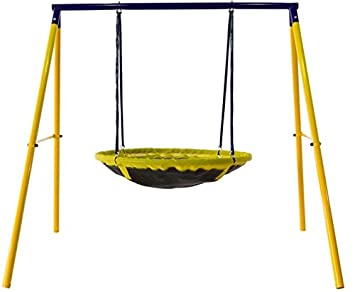 Jump Power UFO Swing Set For 1 Or 2 Children Kids And Toddlers Fun
