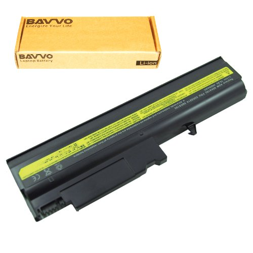 Bavvo Battery Compatible with ThinkPad R52-1861 R52 1862 R52 1863 R52 1870 R52 Series T40-2373 T40-2374 T40P T40 Series T41P T41 Series ()