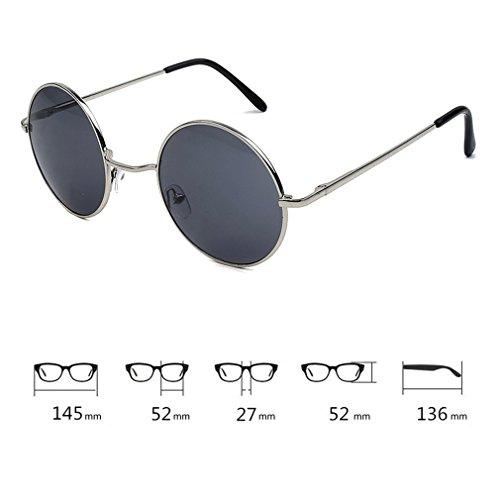 De Para De UV C10 Viajar Conducir Cool Príncipe Vacaciones Brillantes Eyewear Gafas Redondas Unisex Protección Gafas 400 Lindo Sol Grandes Tendencia FFqw0Ea