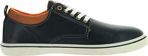 Marco Vitale Hombres 32043 Casual Lace Up Oxfords Zapatos Azul Marino