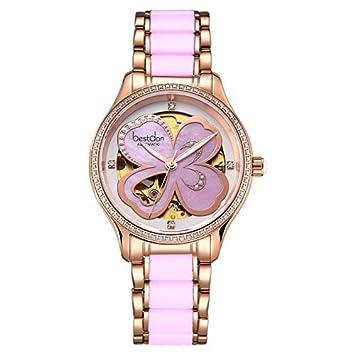 ASDFRTGRF Reloj Productos Especiales/Reloj para Mujer/Reloj mecánico Ultrafino/Trend de Moda