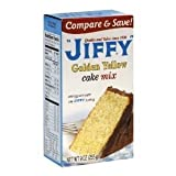 Jiffy, Cake Mix, Yellow, 9oz Box (Pack of 6)