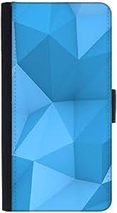 Snoogg funda tipo cartera funda tipo libro con tapa y ranuras de tarjeta de crédito, Efectivo bolsillo, función atril, cierre magnético), color negro para LG G3Vigor