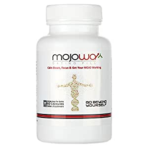 Mojowa Natural Anxiety Relief, Energy, Focus, Antidepressants, Depression Nootropics Pills. Created To Bring You Success In Your Challenging Events