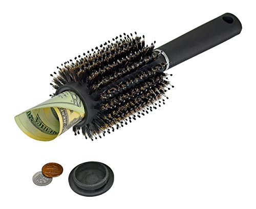 Southern Homewares SH-10206 Hair Brush Secret Hidden Diversion Safe Money Jewelry Storage Home Security (Secret Storage Safe)