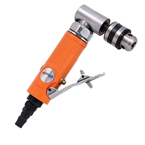 Flameer 1/4 Inch Air-Powered Angle Drill for Milling Cutter Processing, 7004L&7005L - 7005L by Flameer (Image #3)