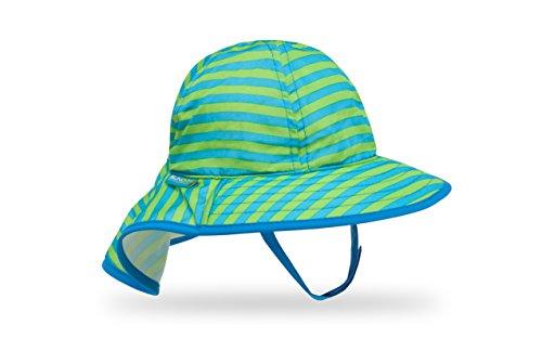Sunday Afternoons Infant Sunsprout Hat, Blue/Green Stripe, Infant