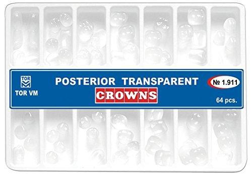 Dental Posterior Transparent Crowns Matrices Matrix 64 pcs. TOR VM