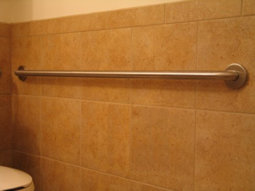 FPL 36 Inch Stainless Steel Grab Bar with Concealed Mounting for ...