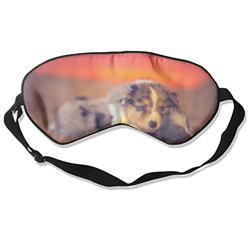 Goods Shops Mulberry Silk Sleeping Masks Dog Puppy Play Game Eyepatch Eye Masks Adjustable Sleeping Eye Shade ()
